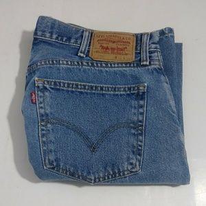 Levi's 505 men's blue straight jeans size 38 X 32